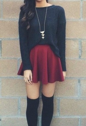 Modest But Classy Skirt Outfits Ideas Suitable For Fall23