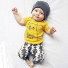 Most Popular Newborn Baby Boy Summer Outfits Ideas32