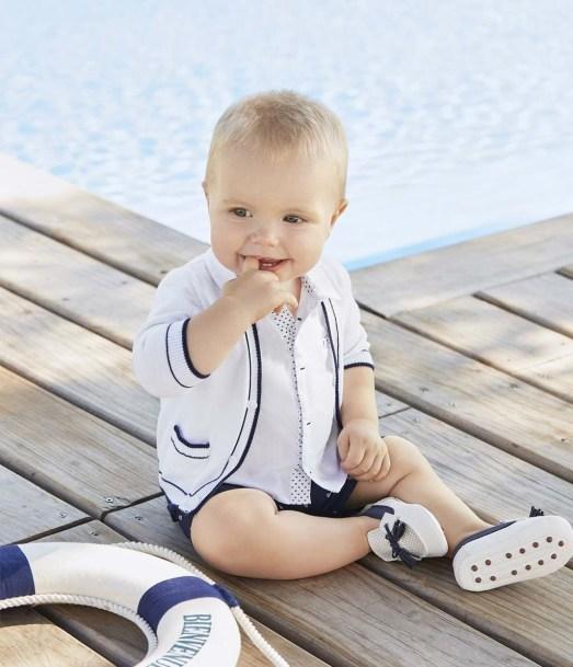 Most Popular Newborn Baby Boy Summer Outfits Ideas41