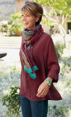 Amazing Looks For Over 40 Women Inspiration13