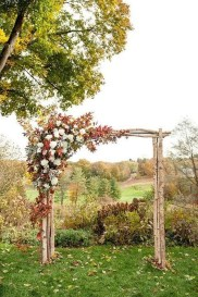 Awesome Outdoor Fall Wedding Tips Ideas12