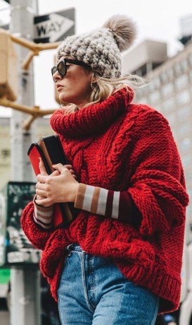 Cute Winter Outfits Ideas To Copy Right Now08