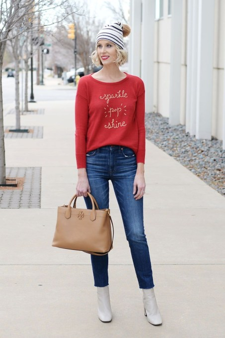 Cute Winter Outfits Ideas To Copy Right Now40