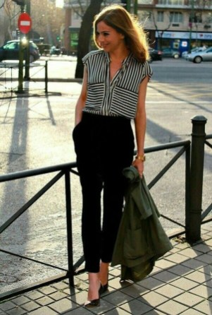 Stunning Work Office Outfit Ideas17