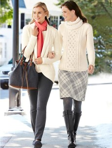 Adorable Winter Outfits Ideas Boots Skirts11