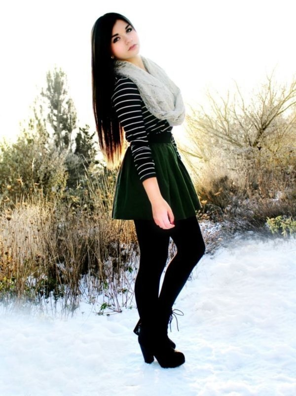 Charming Winter Outfits Ideas Teen Girl40