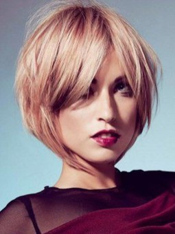 Cute Layered Bob Hairstyles Ideas11