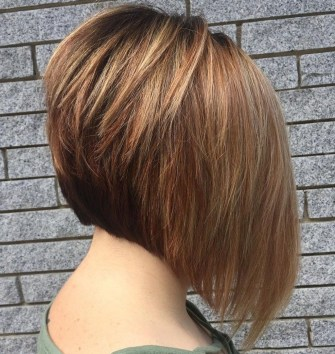 Cute Layered Bob Hairstyles Ideas36