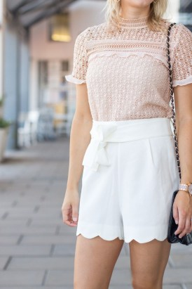 Fascinating Scalloped Clothing Ideas For Summer Outfits24