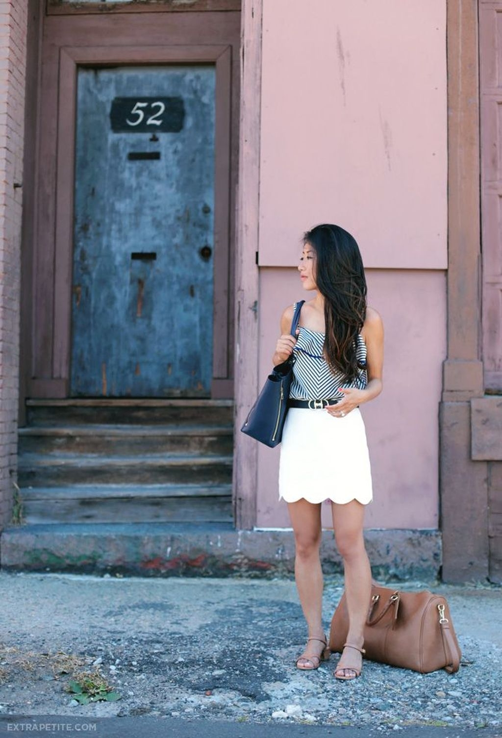 Fascinating Scalloped Clothing Ideas For Summer Outfits35