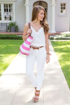 Fascinating Scalloped Clothing Ideas For Summer Outfits43
