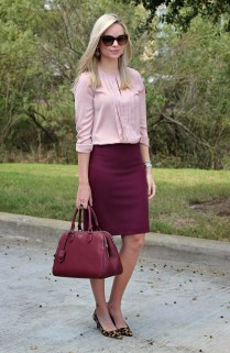 Incredible Skirt And Blouse This Fall Ideas05