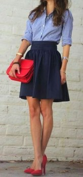 Incredible Skirt And Blouse This Fall Ideas23