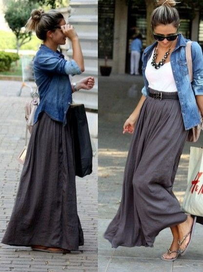Incredible Skirt And Blouse This Fall Ideas46