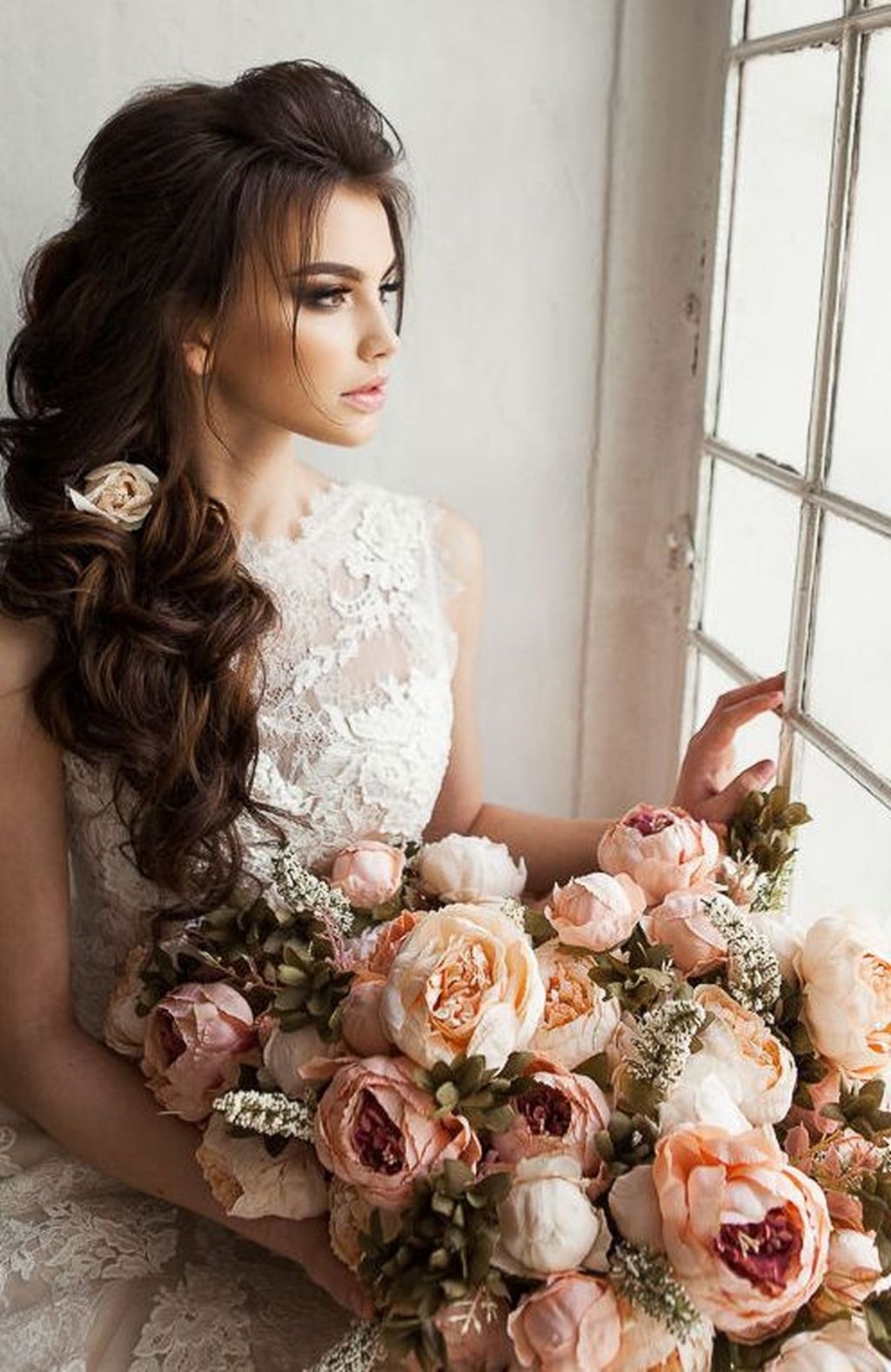 Perfect Wedding Hairstyles Ideas For Long Hair05