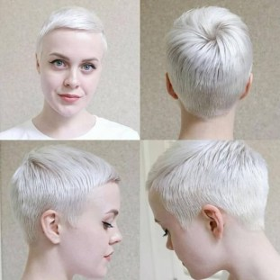Pretty Grey Hairstyle Ideas For Women06