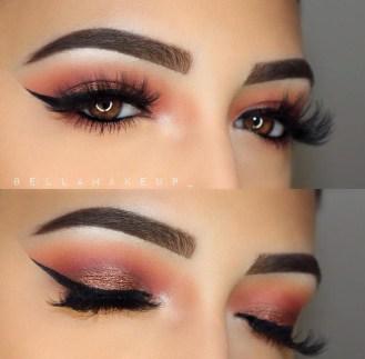 Stunning Shimmer Eye Makeup Ideas 201809