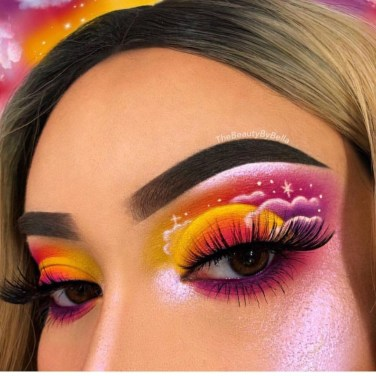 Stunning Shimmer Eye Makeup Ideas 201832