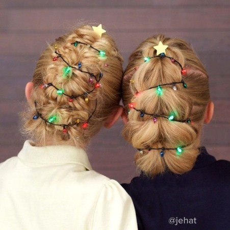 Awesome Hairstyles Christmas Party Ideas15