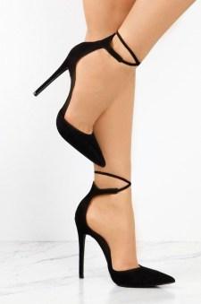 Charming Christmas Heels Ideas For Cute Women18