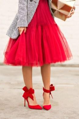 Charming Christmas Heels Ideas For Cute Women26