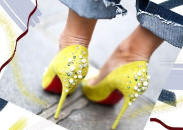Charming Christmas Heels Ideas For Cute Women28