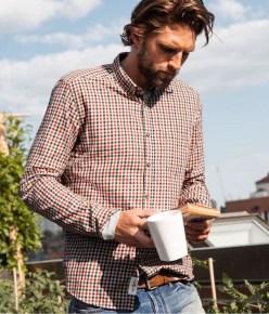 Cozy Plaid Shirt Outfit Christmas Ideas For Handsome Mens41