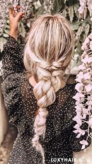 Cute Christmas Braided Hairstyles Ideas12