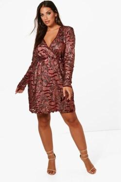 Cute Diy Wrap Mini Dress Ideas For Christmas Party07