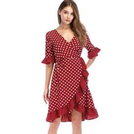 Cute Diy Wrap Mini Dress Ideas For Christmas Party11