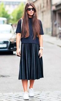 Elegant Midi Skirt Winter Ideas19