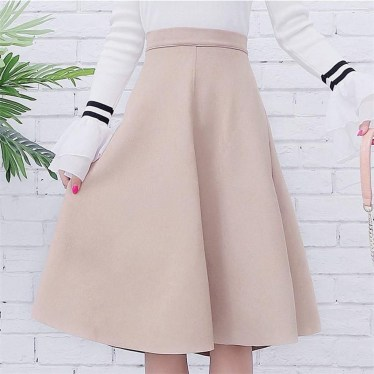 Elegant Midi Skirt Winter Ideas42