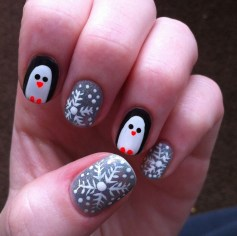 Outstanding Christmas Nail Art New 2017 Ideas23