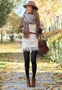 Awesome Winter Dress Outfits Ideas With Boots23