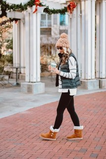 Best Winter Outfits Ideas With Leggings21