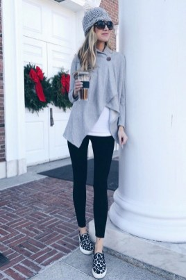 Best Winter Outfits Ideas With Leggings35