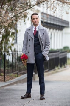 Elegant Men'S Outfit Ideas For Valentine'S Day10