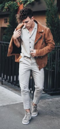 Elegant Men'S Outfit Ideas For Valentine'S Day24