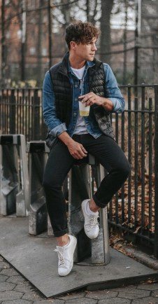 Elegant Men'S Outfit Ideas For Valentine'S Day25