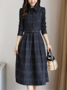 Flawless Winter Dress Outfits Ideas20