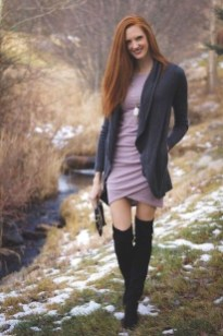 Flawless Winter Dress Outfits Ideas23