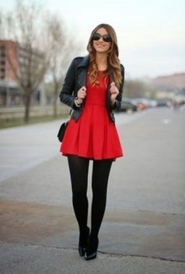 Flawless Winter Dress Outfits Ideas48
