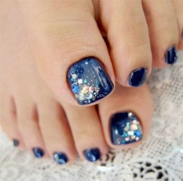 Stunning Toe Nail Designs Ideas For Winter18