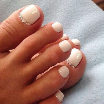 Stunning Toe Nail Designs Ideas For Winter30