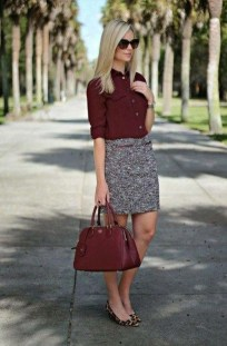 Stunning Winter Outfits Ideas With Skirts05