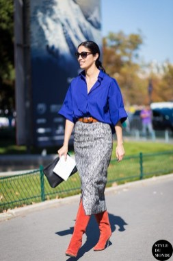 Stunning Winter Outfits Ideas With Skirts09