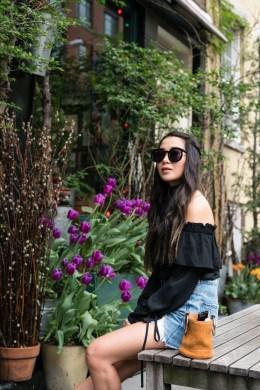 Elegant Denim Skirts Outfits Ideas For Spring24