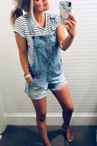 Latest Summer Outfit Ideas For Womens36