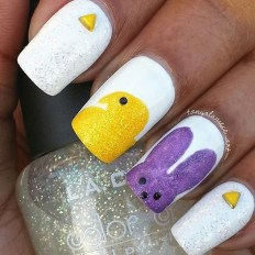 Modern Easter Nail Art Design Ideas11