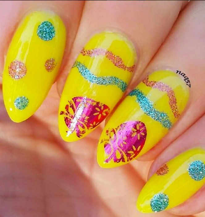 Modern Easter Nail Art Design Ideas12